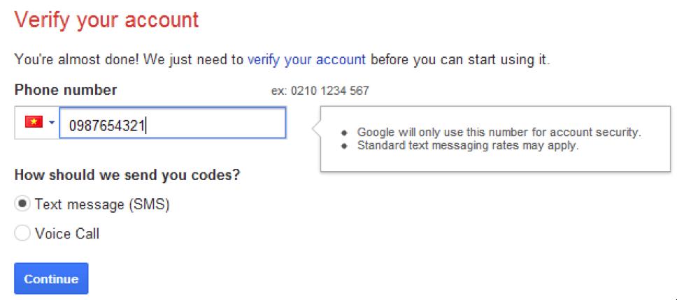 Bảo mật tài khoản 2 bước gmail - timoday.edu.vn