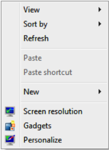 Thay đổi độ phân giải màn hình - Screen Resolution