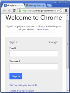 Chào mừng đến với Chrome
