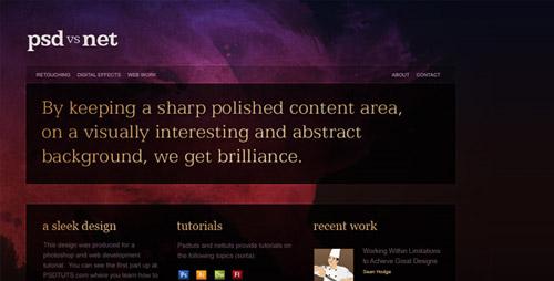 Hướng dẫn từ PSD tới HTML