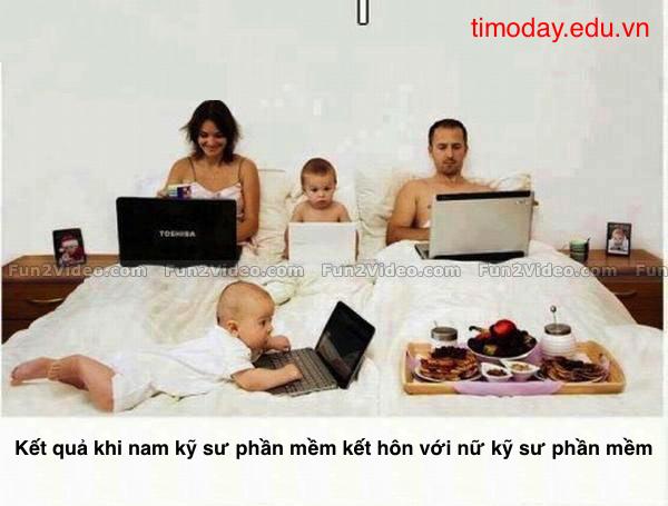 Gia đình kỹ sư phần mềm