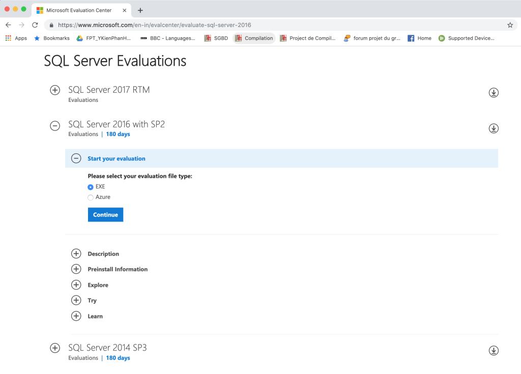 Hệ quản trị CSDL SQL Server 2016