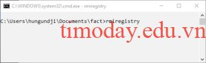 Chạy Registry RMI