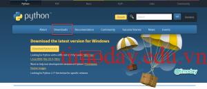 Trang chủ Download Python