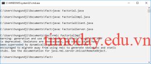 Biện dịch chương trình Java